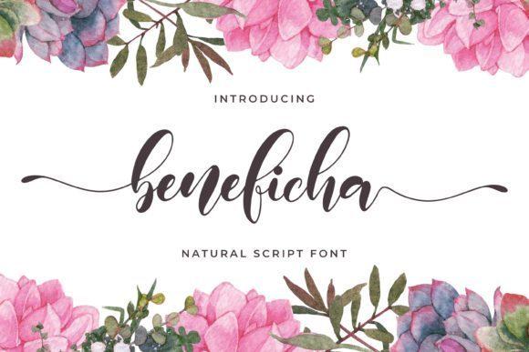 Beneficha Calligraphy Script Font