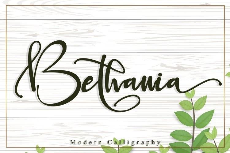 Bethania-Font-1