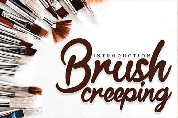 Brush-Creeping-Script-Font-1