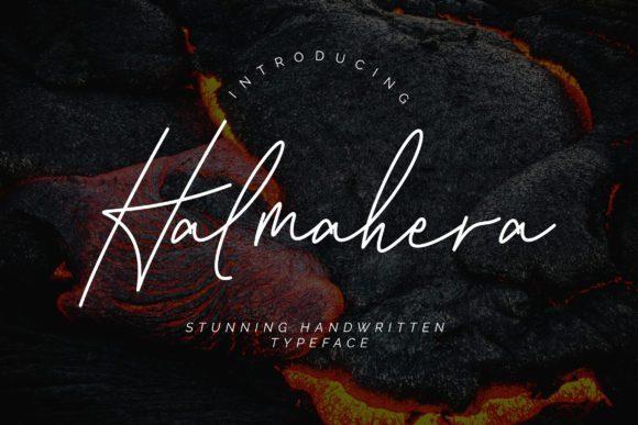 Halmahera Signature Font
