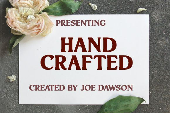 Hand Crafted Serif Font