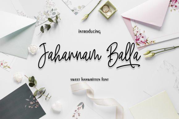 Jahannam-Balla-Handwritten-Font-1