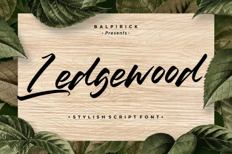 Ledgewood-Script-Font-1