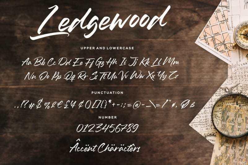 Ledgewood-Script-Font-3