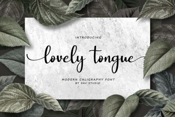 Lovely-Tongue-Font-1