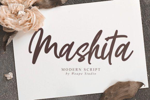 Mashita Script Font