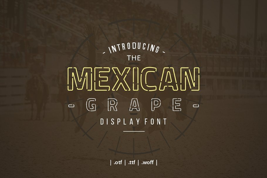 Mexican-Grape-Display-Font