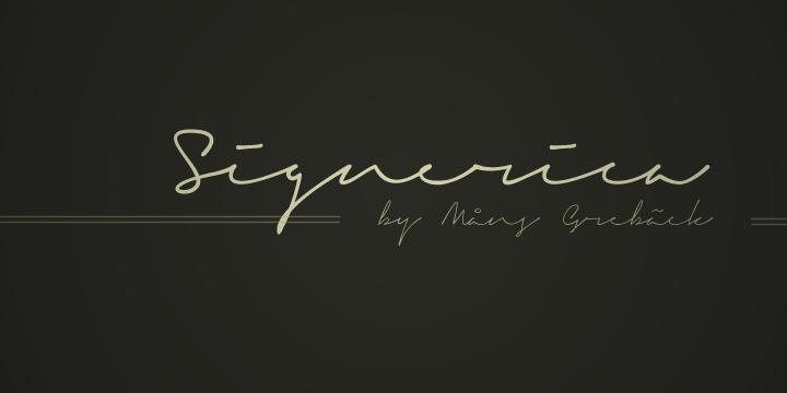Signerica-Signature-Font-1