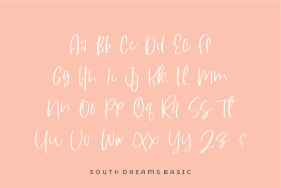South-Dreamers-Script-Font-3