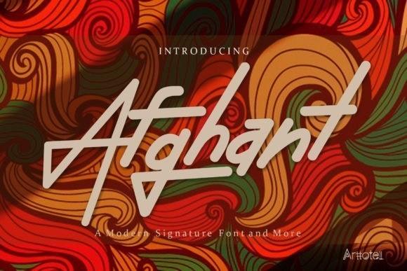 afghant-font-1