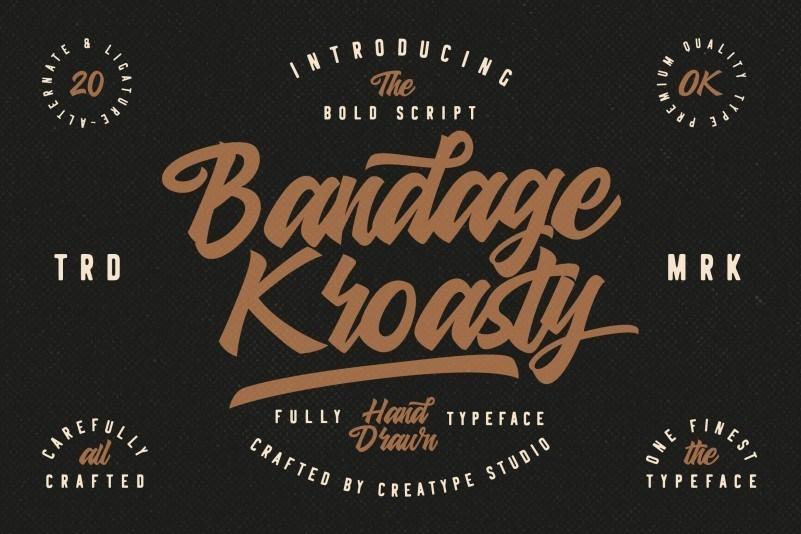 bandage-kroasty-font-1