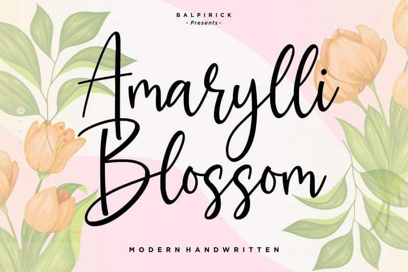 marylli-Blossom-Handwritten-Font-1