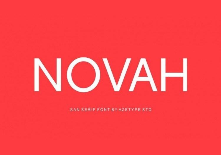 novah-sans-free-font