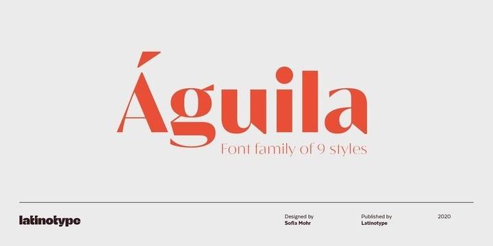 Águila-Sans-Serif-Font-1
