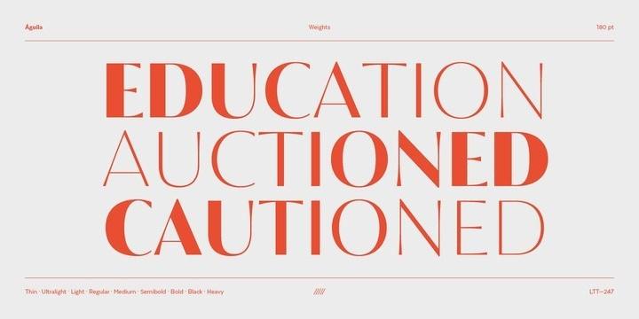 Águila-Sans-Serif-Font-2