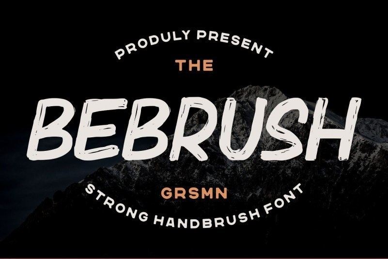 Bebrush-Handbrush-Font-1
