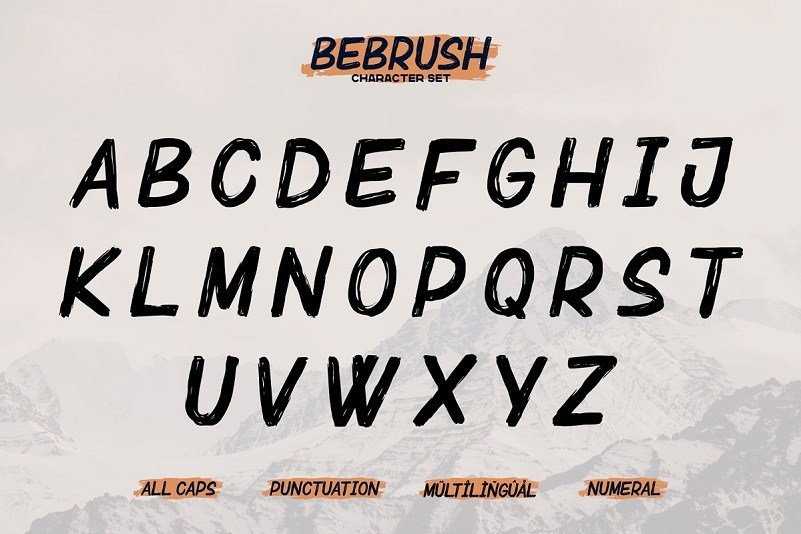 Bebrush-Handbrush-Font-3