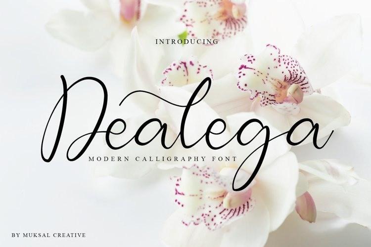 Dealega-Calligraphy-Font-1