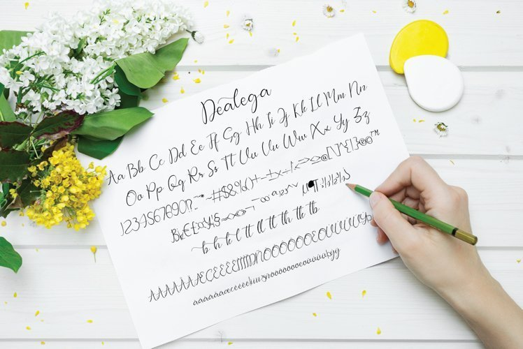 Dealega-Calligraphy-Font-4