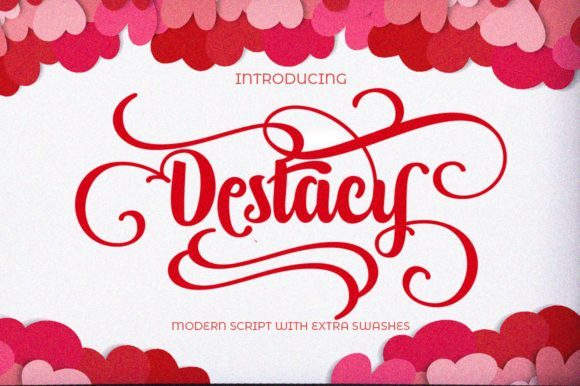 Destacy Calligraphy Script Font