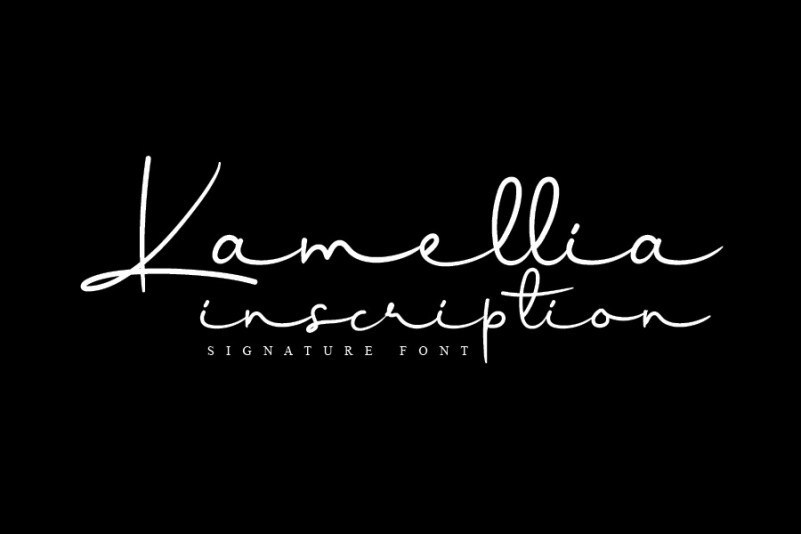 Kamellia-Signature-Font-1