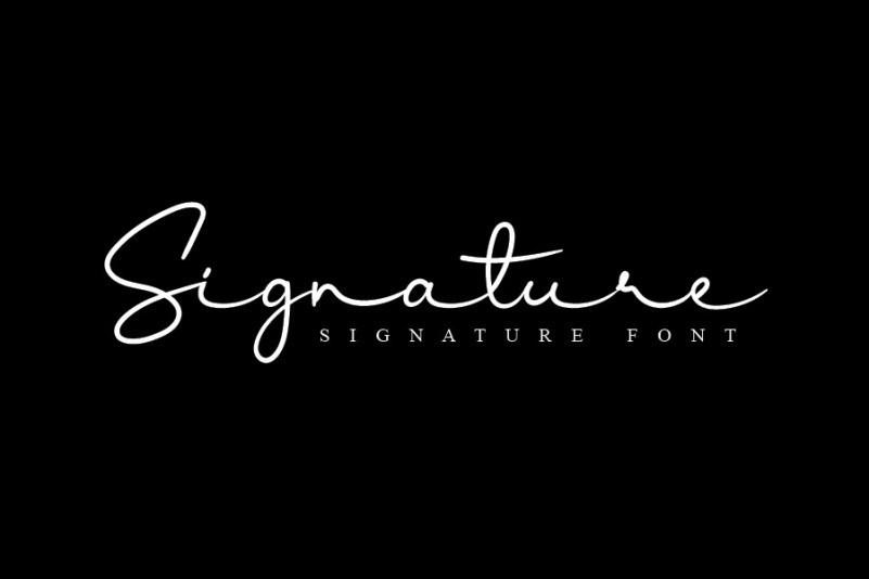 Kamellia-Signature-Font-3