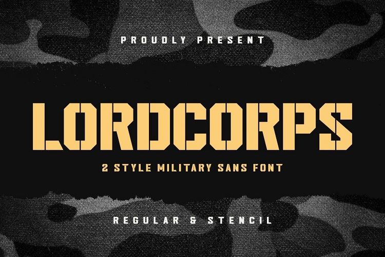 Lordcorps-Fonts