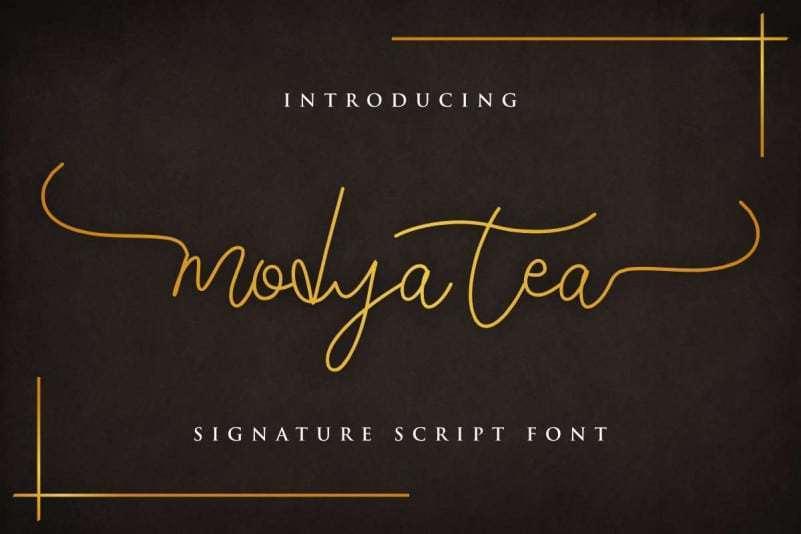 Modya-Tea-Signature-Font-1