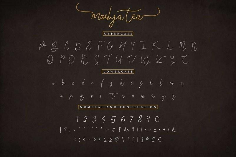 Modya-Tea-Signature-Font-3