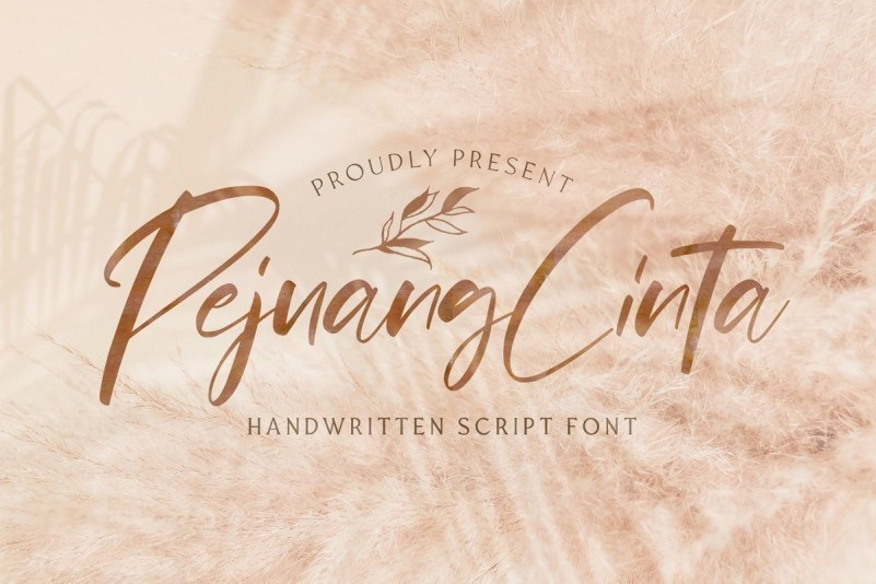 Pejuang-Cinta-Handwritten-Font-1