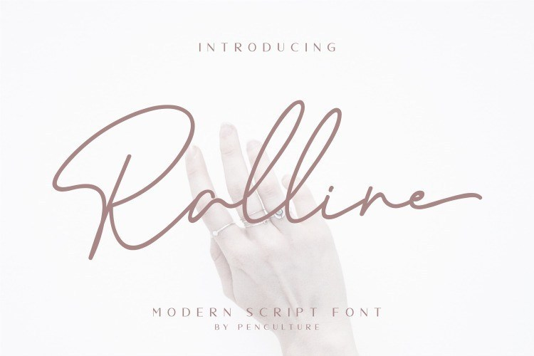 Ralline-Handwritten-Font-1