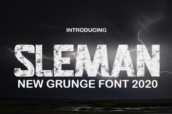 SLEMAN Display Font