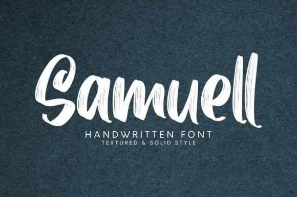 Samuell Brush Script Font