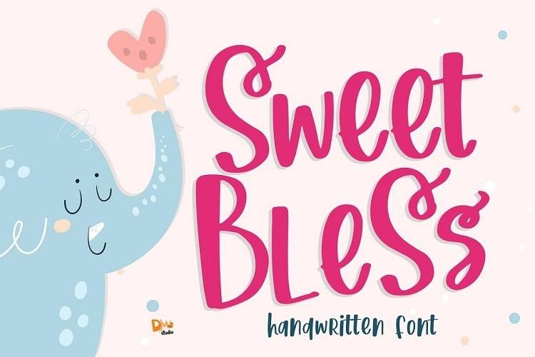 Sweet-Bless-Handwritten-Font-1
