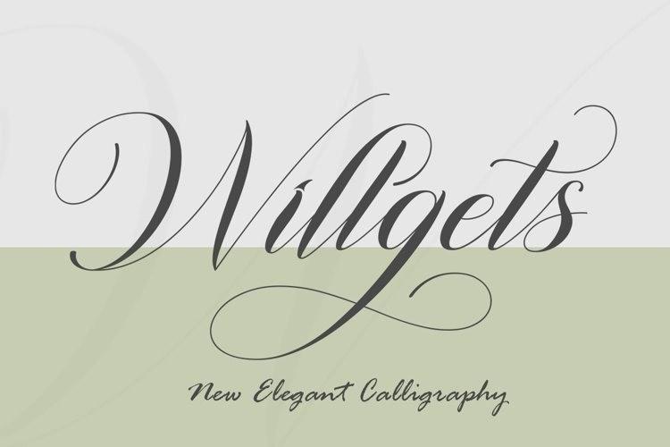 Willgets-Font-1
