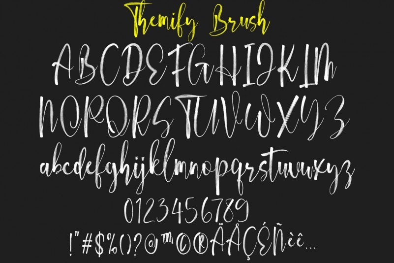 themify-brush-font-3