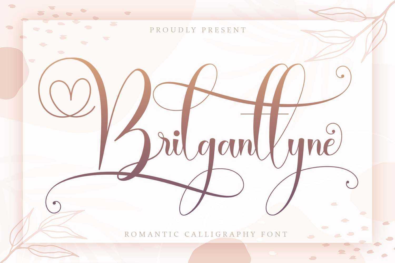 Brilganttyne-Calligraphy-Script-Font-1