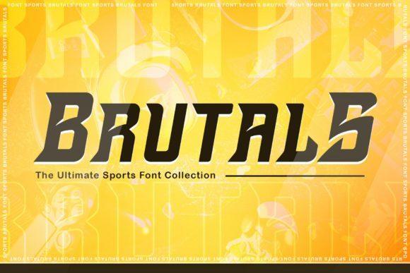 Brutals Bold Display Font