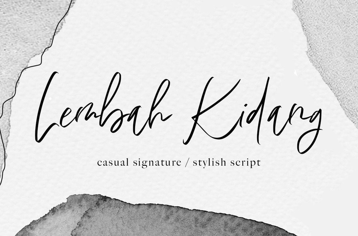 Lembah-Kidang-Signature-Font-1