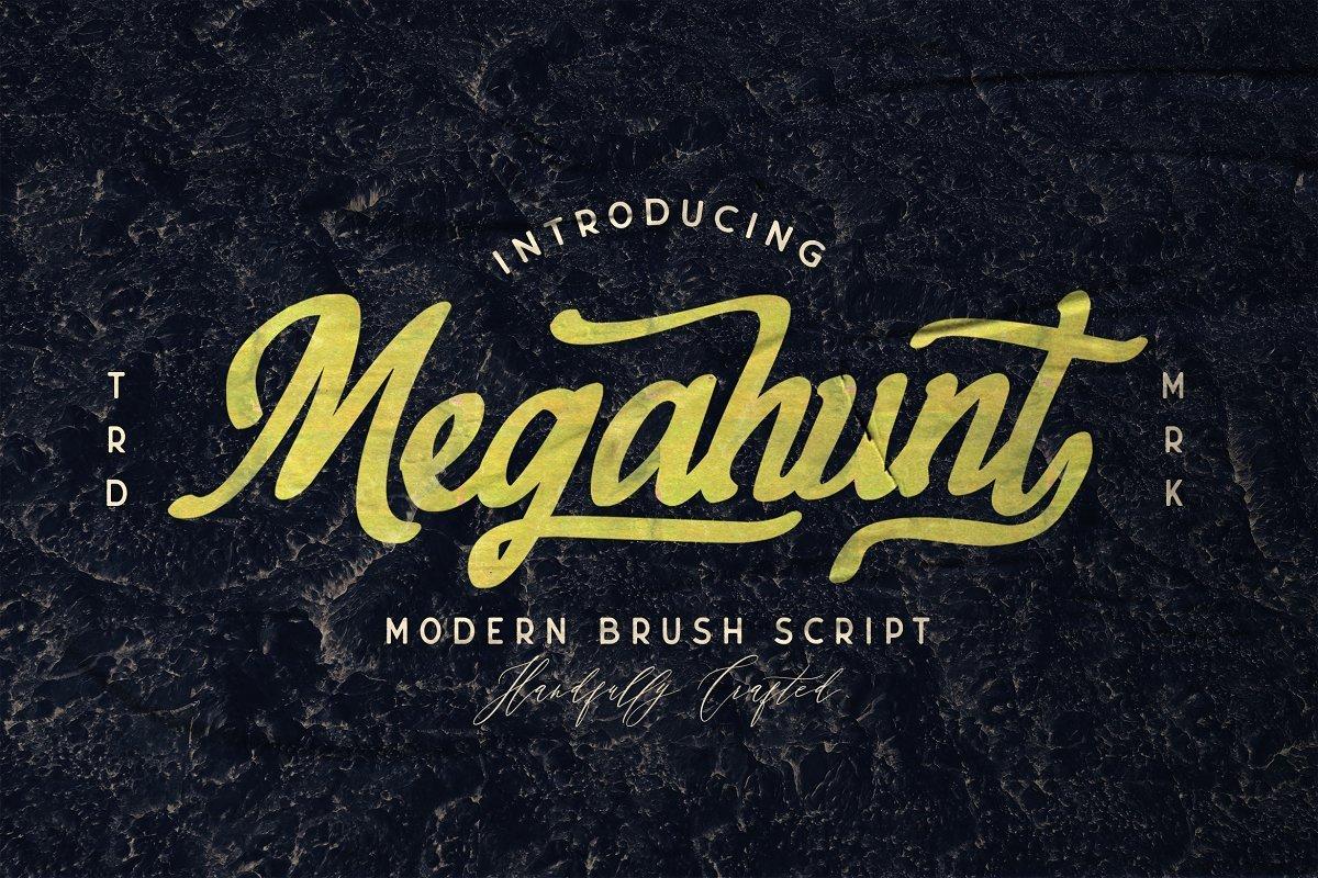 Megahunt-Brush-Script-Font-1