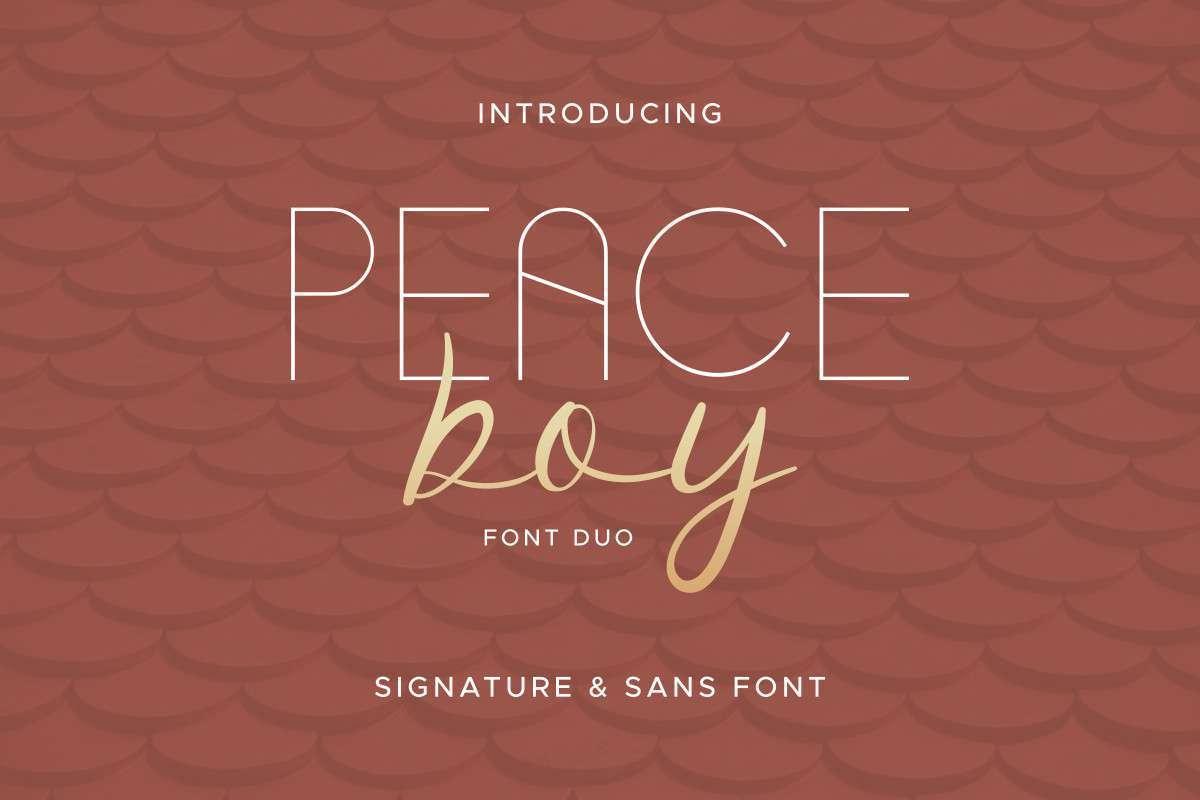 Peace-Boy-Font-Duo-1
