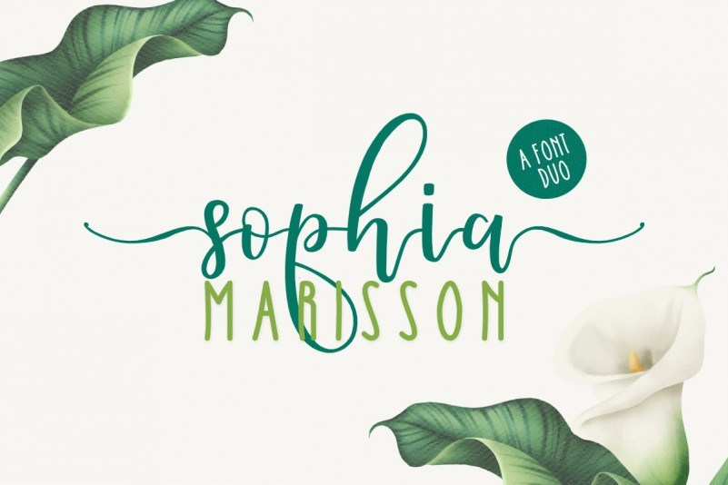 Sophia-Marisson-Script-Font-1