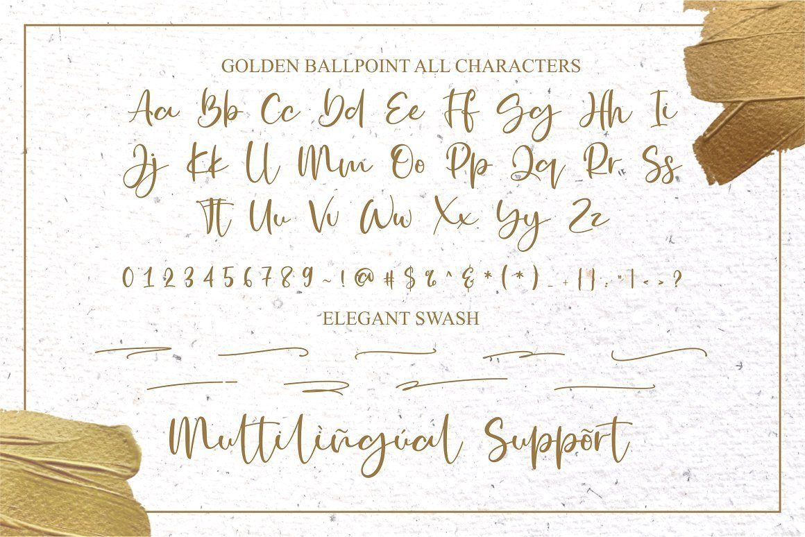 Golden-Ballpoint-Handwritten-Script-Font-4