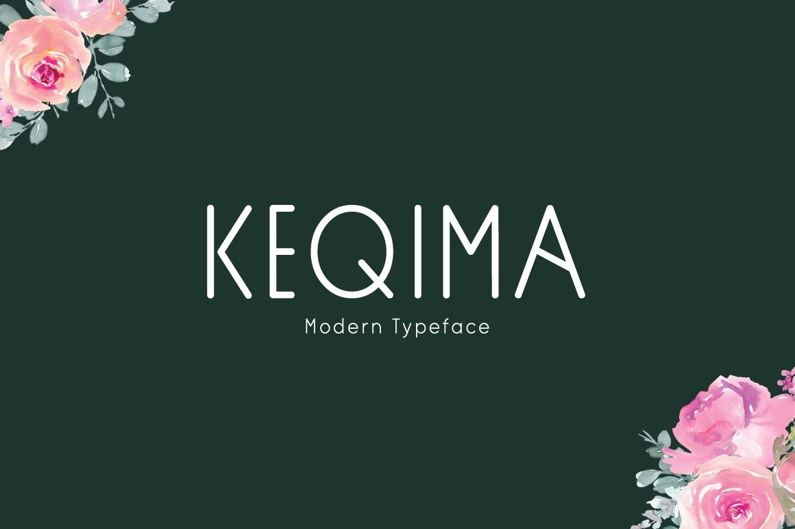 Keqima-Sans-Serif-Typeface-1