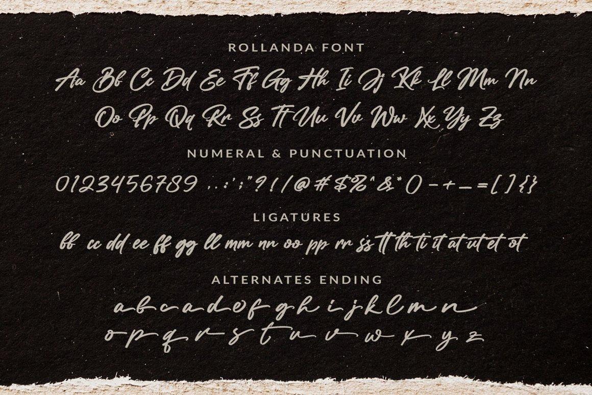 Rollanda-Textured-Signature-Script-Font-4