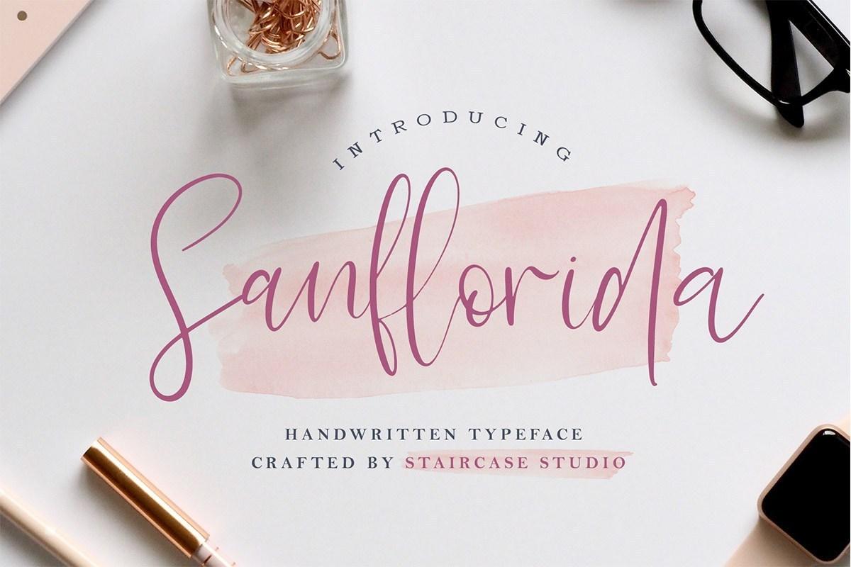 Sanflorida-Handwritten-Script-Font-1