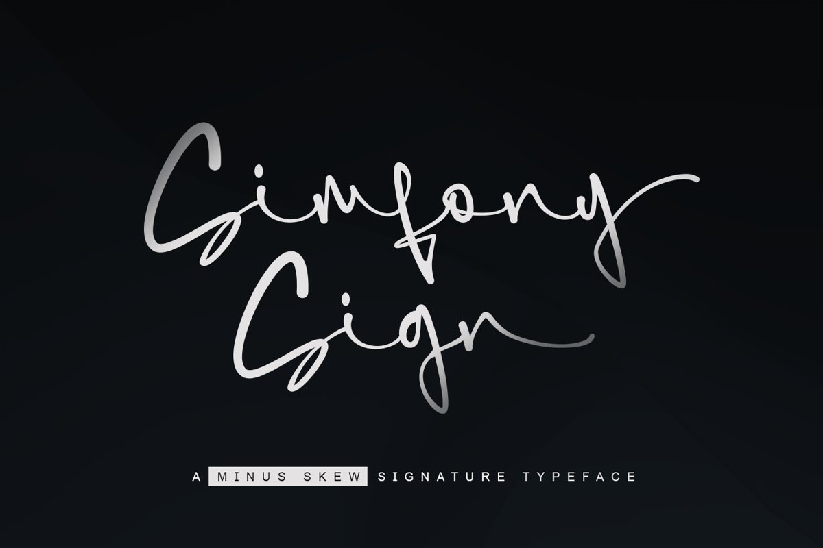 SimfonySign-Signature-Script-Typeface-1