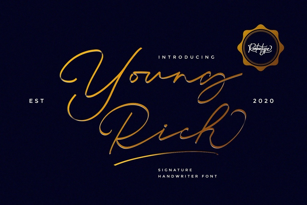 Young-Rich-Font-1