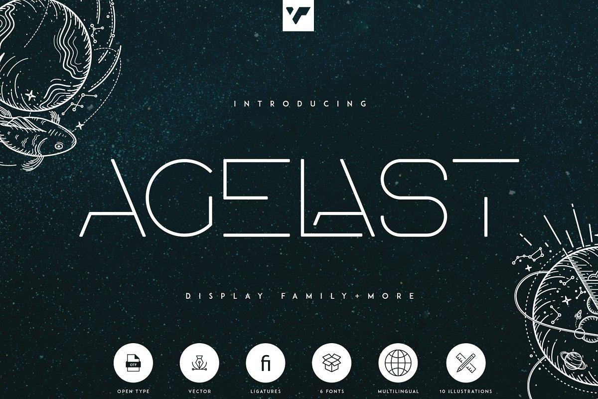Agelast-Display-Family-Font
