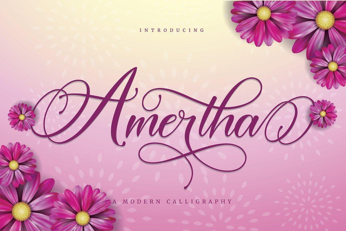 Amertha-Calligraphy-Script-Font-1